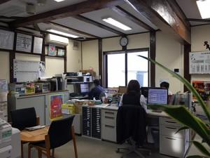 現在の事務所の様子