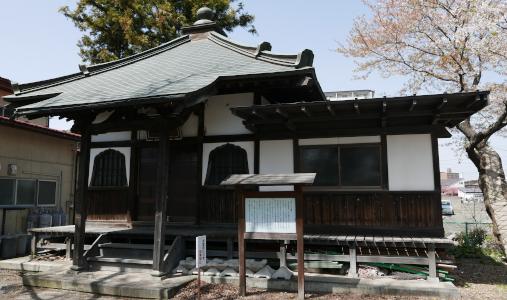 火防の秋葉さん(長松寺境内)